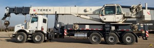 Terex Crossover 6000 60-Ton Boom Truck Crane on Kenworth T800