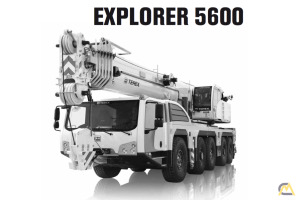 Terex Explorer 5600 160 metric ton All Terrain Crane