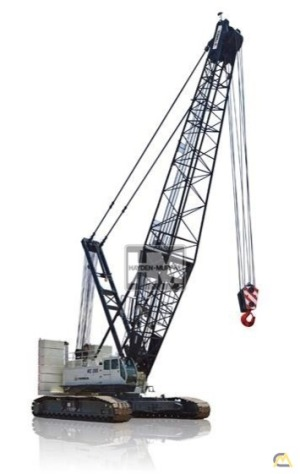 Terex HC 285 285-Ton Lattice Boom Crawler Crane