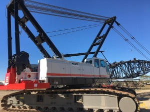 Terex HC275 275-Ton Lattice Boom Crawler Crane