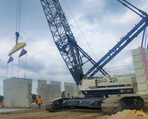 Terex HC285 285-Ton Lattice Boom Crawler Crane
