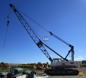 Terex HC80 80-Ton Lattice Boom Crawler Crane