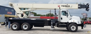 Terex RS 70100 35-Ton Boom Truck Crane on Freightliner 108SD