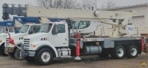 Terex RS 70100 35-ton Boom Truck on Sterling