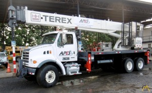 Terex RS 70100 Boom Truck on Sterling LT501