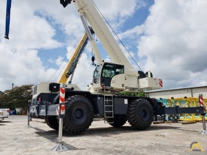 Terex RT 100US 100-Ton Rough Terrain Crane