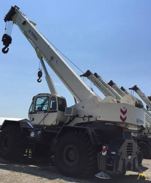 Terex RT 130 130-Ton Rough Terrain Crane