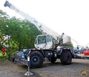 (3) Terex RT 345-1 XL 45-Ton Rough Terrain Cranes