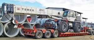 Terex RT 555-1 55-Ton Rough Terrain Crane