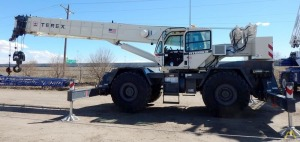 Terex RT 555-2 55-ton Rough Terrain Crane