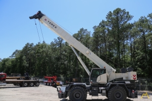 New Terex RT 780 80-ton 126-foot boom rough terrain crane for sale