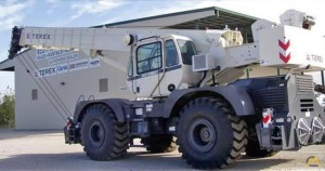 Terex RT 780 80-Ton Rough Terrain For Sale Cranes & Material