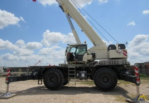 Terex RT100 100-ton Rough Terrain Crane