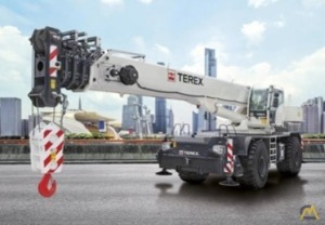 Terex RT100US 100-Ton Rough Terrain Crane