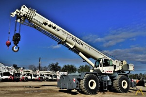Terex RT1120 120-Ton Rough Terrain Crane