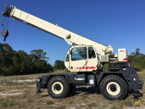 Terex RT230-1 30-Ton Rough Terrain Crane