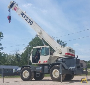 Terex RT230 30-Ton Rough Terrain Crane