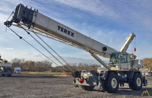 Terex RT555 55-Ton Rough Terrain Crane