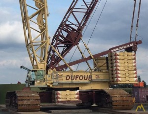 Terex Superlift 3800 650-ton Lattice Boom Crawler Crane