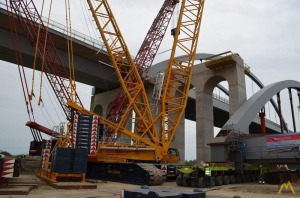 Terex Superlift 650-ton Lattice Boom Crawler Crane