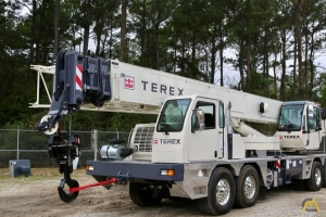 New Terex T 560-1 60-ton 110-foot telescopic-boom truck crane for sale