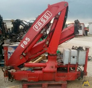 Unmounted Fassi F85.22 Knuckle Boom Crane