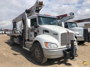 Used 2019 Manitex 1970 C boom truck on Kenworth T370 chassis
