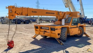 Used Broderson IC-200-3F 15-Ton Carry Deck Crane