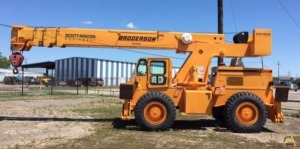 Used Broderson RT-300-2F 15-Ton Carry Deck Crane