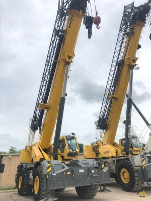 Used Grove RT890E 90-Ton Rough Terrain Crane