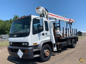 USTC 1000JBT 10-ton Boom Truck on Chevrolet T8500