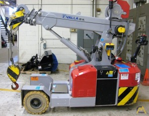 Valla 25 EL 2.45-ton Electric Pick & Carry Crane
