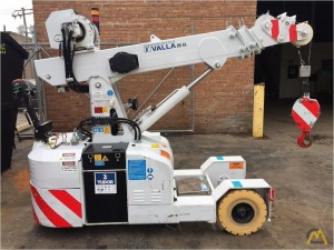 Valla Manitex 25 EL 2.45-ton Electric Pick & Carry Crane