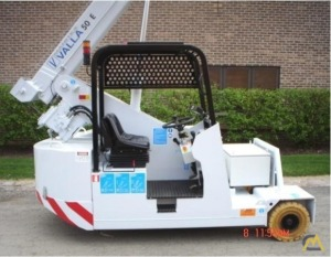 Valla Manitex 50 E 5.5-ton Electric Pick and Carry Crane