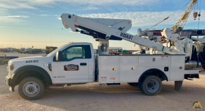 Versalift VST-40-MHI Aerial Bucket Truck on a 2019 Ford F550