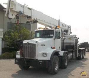 Weldco Hydralift HL30C70 30-ton Cab Mounted Boom Truck Crane on Kenworth T800