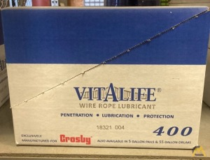 Crosby Vitalife 400 Wire Rope Lubricant