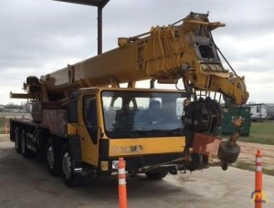 Truck Cranes Telescopic Boom XCMG QY50K Specifications