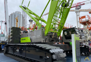 Zoomlion ZCC2600H 300-ton Lattice Boom Crawler Crane