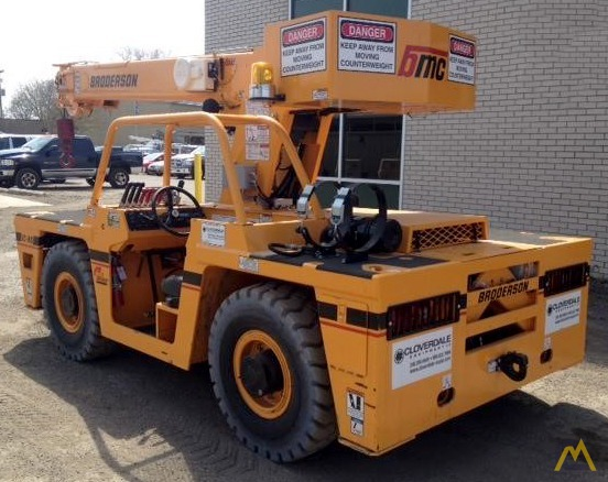 Broderson IC-80-3J 9-Ton Carry Deck Crane 3