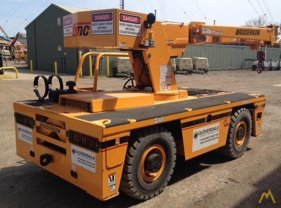 Broderson IC-80-3J 9-Ton Carry Deck Crane 2