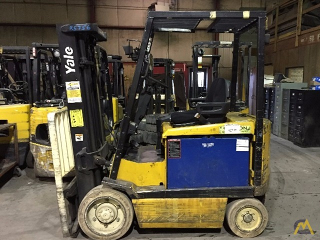 Used Electric Forklift – 5,000# Yale 0