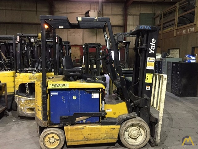 Used Electric Forklift – 5,000# Yale 1