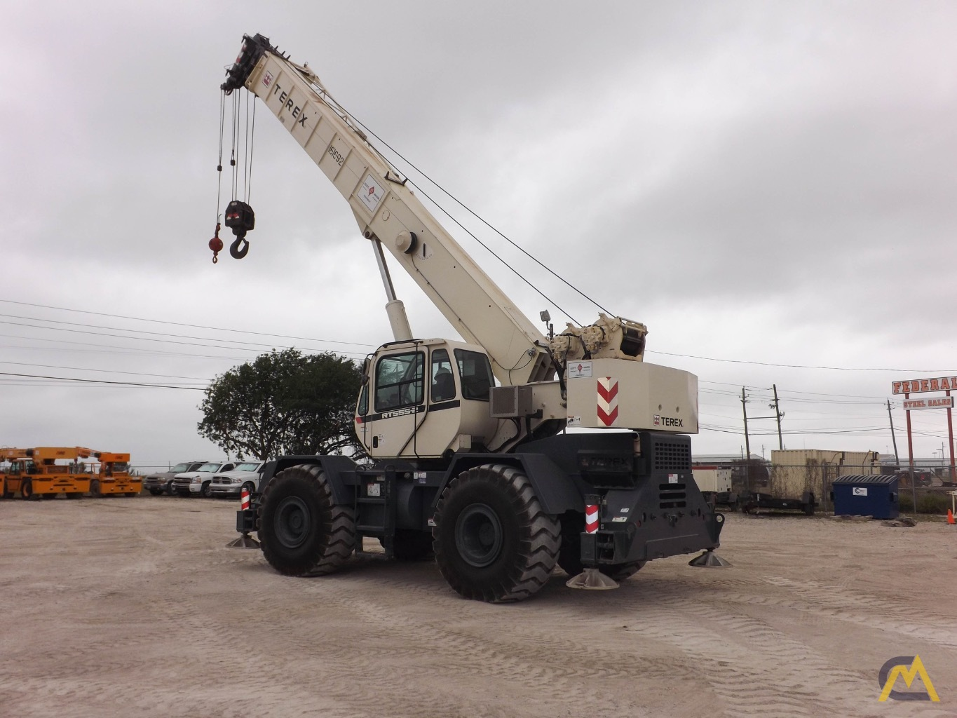 Terex RT555-1 55-Ton Rough Terrain Crane 4