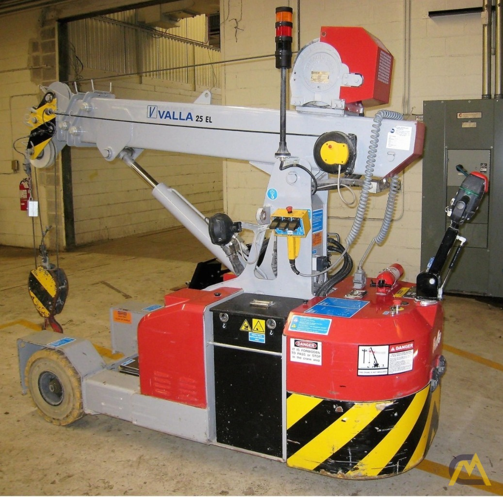 Valla 25 EL 2.45-ton Electric Pick & Carry Crane 1