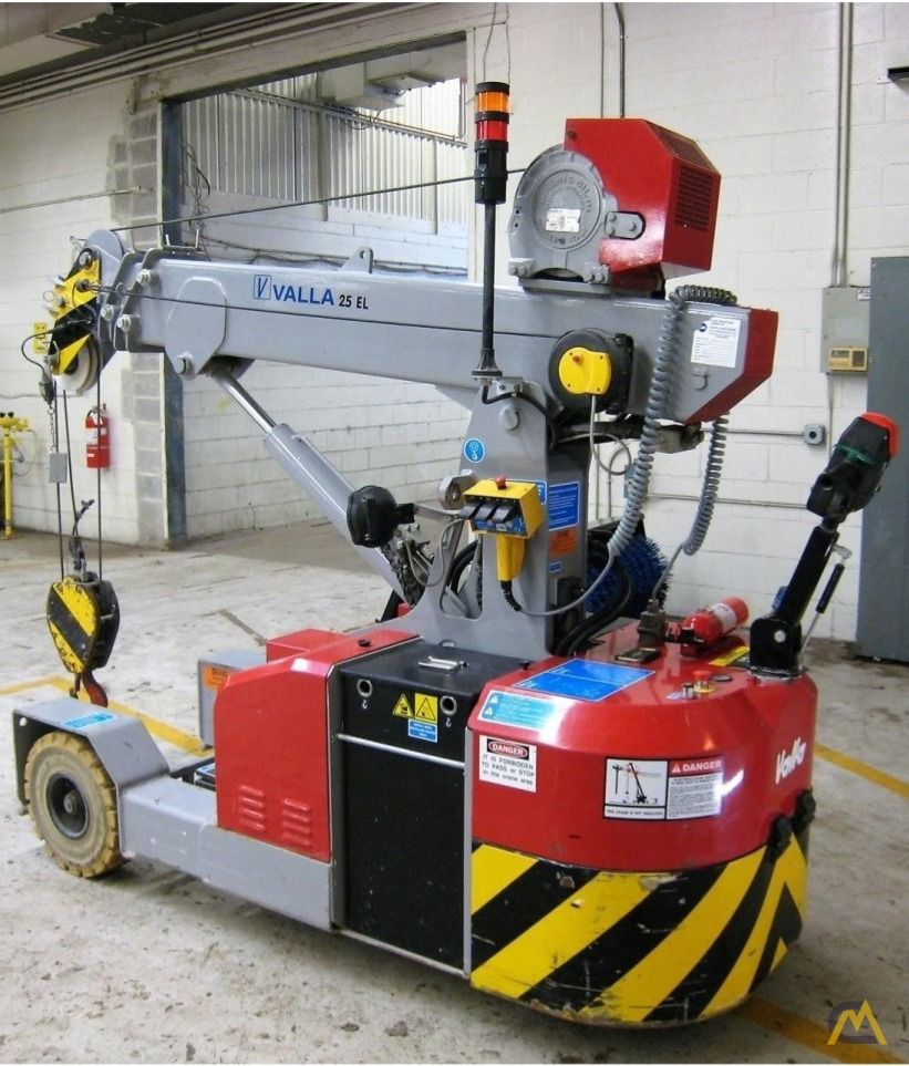 Valla 25 EL 2.45-ton Electric Pick & Carry Crane 9