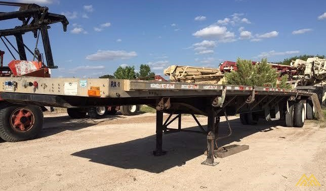 Wabash SA-102 CW Flat Bed Trailer 0