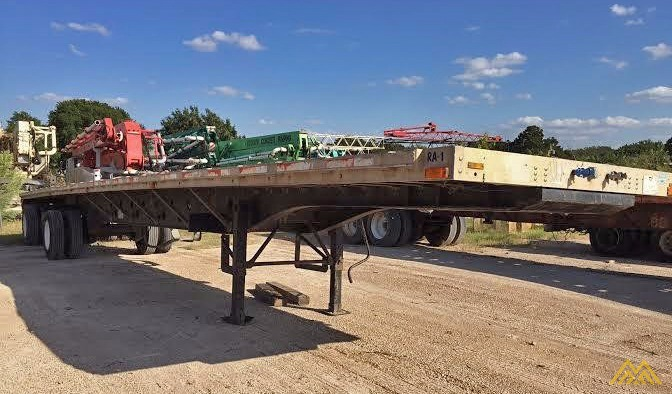 Wabash SA-102 CW Flat Bed Trailer 1