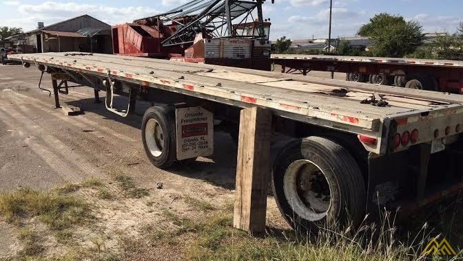 Wabash SA-102 CW Flat Bed Trailer 2