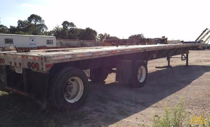 Wabash SA-102 CW Flat Bed Trailer 3